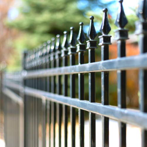 residential wrought iron fencing
